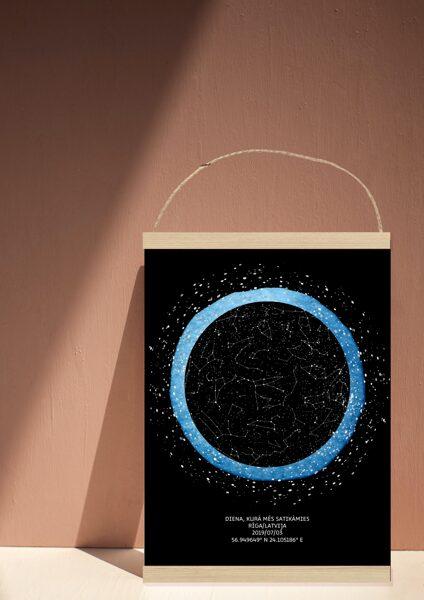 Personalizē savu zvaigžņu dekoru