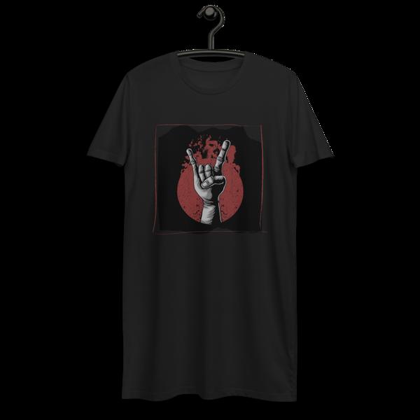 Hand in rock